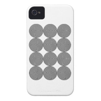 Wellcoda Optical Hypnosis Cool Confusion iPhone 4 Cover
