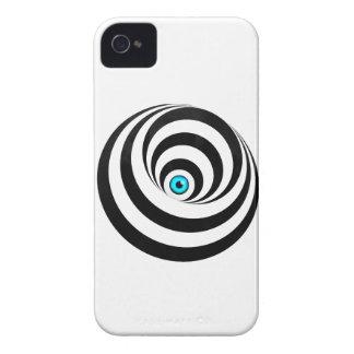 Wellcoda Optical Illusion Eye Vision Idea iPhone 4 Case