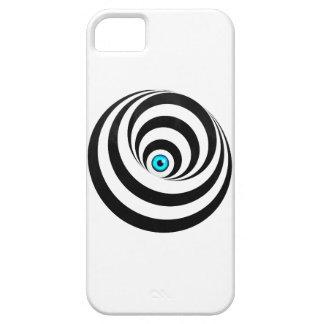 Wellcoda Optical Illusion Eye Vision Idea iPhone 5 Case