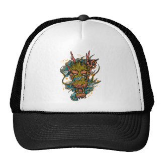 Wellcoda Oriental Dragon Head Evil Beast Cap