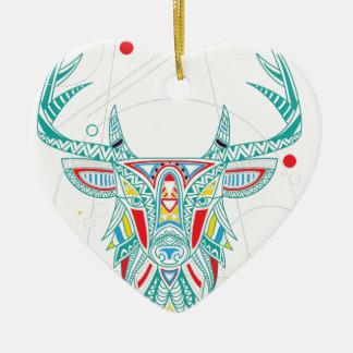Wellcoda Ornament Animal Head Deer Horn