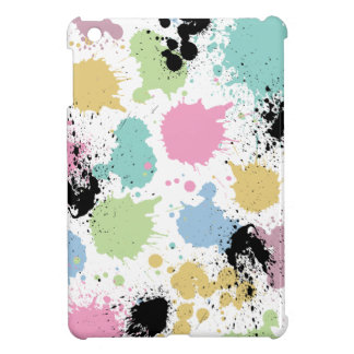 Wellcoda Paint Fun Splat Effect Colourful Cover For The iPad Mini