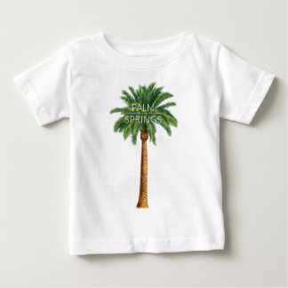 Wellcoda Palm Springs Holiday Summer Fun Baby T-Shirt