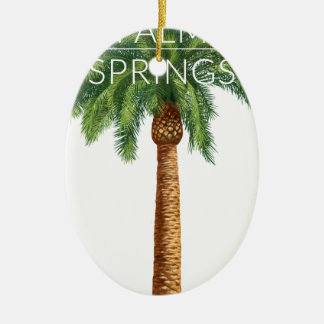 Wellcoda Palm Springs Holiday Summer Fun Christmas Ornament