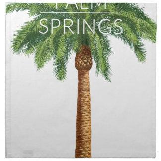 Wellcoda Palm Springs Holiday Summer Fun Napkin