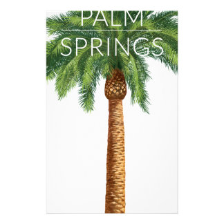 Wellcoda Palm Springs Holiday Summer Fun Stationery
