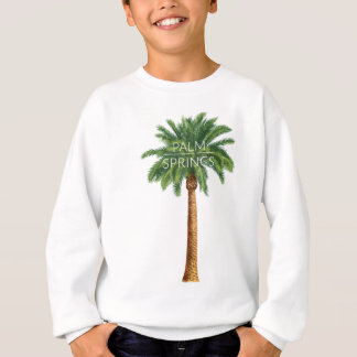 Wellcoda Palm Springs Holiday Summer Fun Sweatshirt