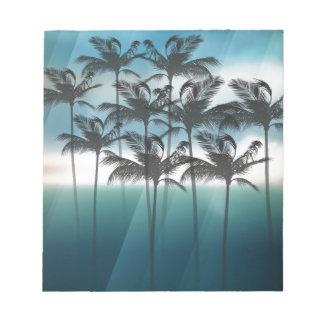 Wellcoda Palm Tree Holiday Fun Vacation Notepad