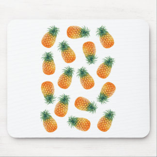 Wellcoda Pineapple Fruit Bowl Summer Fun Mouse Pad
