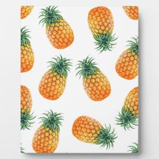 Wellcoda Pineapple Fruit Bowl Summer Fun Plaque