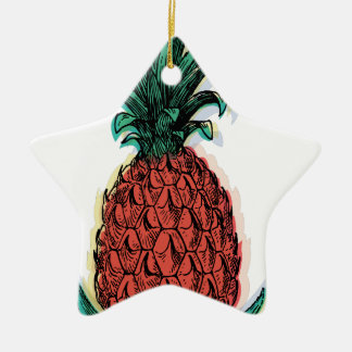 Wellcoda Pineapple Fruit Tree Tasty Treat Christmas Ornament