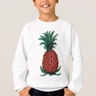 Wellcoda Pineapple Fruit Tree Tasty Treat Sweatshirt