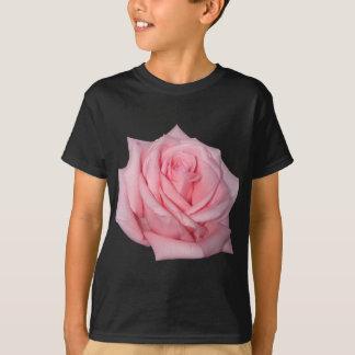 Wellcoda Pink Rose Romantic Flower Power T-Shirt