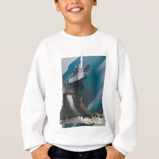 Wellcoda Portait City Human Urban Collage Sweatshirt