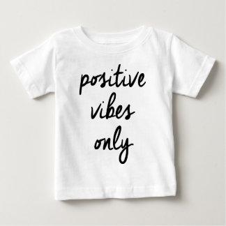 Wellcoda Positive Vibes Only UK Positivity Baby T-Shirt