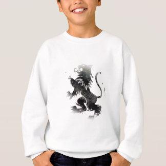 Wellcoda Rampant Lion Scotland Wild Flag Sweatshirt