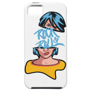 Wellcoda Rock And Roll Crazy Music Soul iPhone 5 Cover