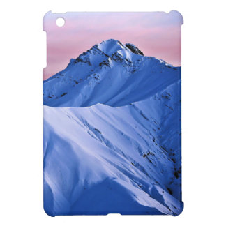 Wellcoda Rocky Mountain Peaks Snow Rock iPad Mini Cover