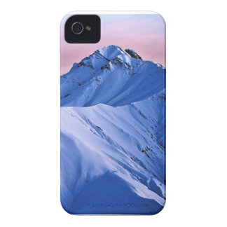 Wellcoda Rocky Mountain Peaks Snow Rock iPhone 4 Case-Mate Case