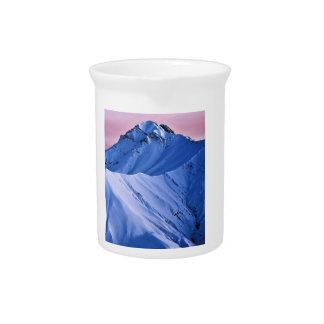 Wellcoda Rocky Mountain Peaks Snow Rock Pitcher