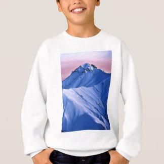 Wellcoda Rocky Mountain Peaks Snow Rock Sweatshirt