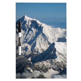 Wellcoda Rocky Mountain Range Snow Rock Dry Erase Board