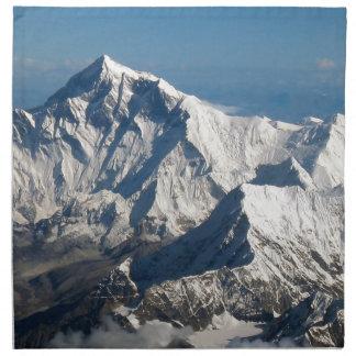 Wellcoda Rocky Mountain Range Snow Rock Napkin