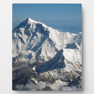 Wellcoda Rocky Mountain Range Snow Rock Plaque