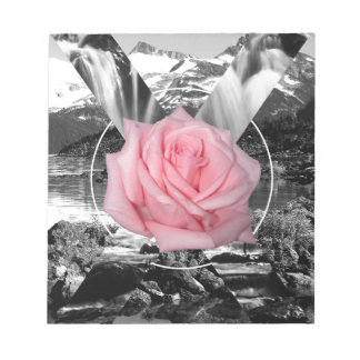 Wellcoda Rocky Mountain Rose Nature Love Notepad