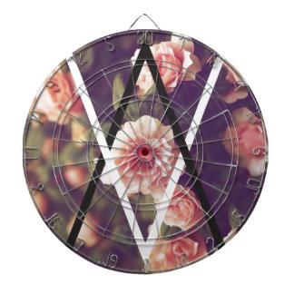 Wellcoda Romantic Rose Triangle Love Shape Dartboard