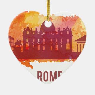 Wellcoda Rome City Capital Italy History Christmas Ornament