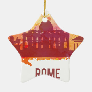 Wellcoda Rome City Capital Italy History Christmas Ornament