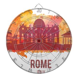Wellcoda Rome City Capital Italy History Dartboard