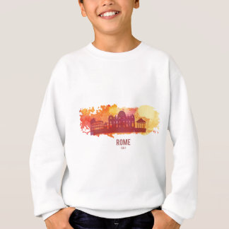 Wellcoda Rome City Capital Italy History Sweatshirt