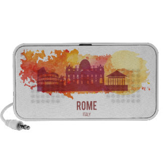 Wellcoda Rome Italy Capital City Sight Notebook Speaker