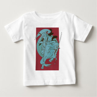 Wellcoda Samurai Fighter Anime Warrior Baby T-Shirt
