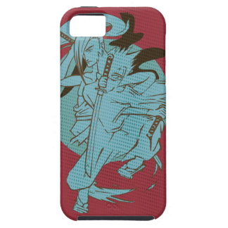 Wellcoda Samurai Fighter Anime Warrior iPhone 5 Cases