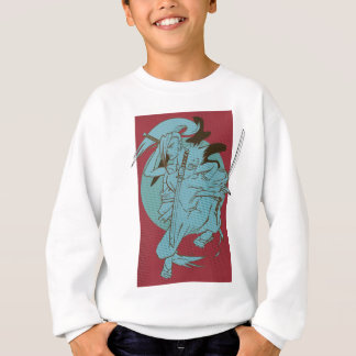 Wellcoda Samurai Fighter Anime Warrior Sweatshirt