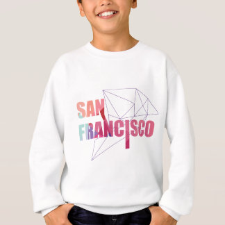 Wellcoda San Francisco City USA California Sweatshirt