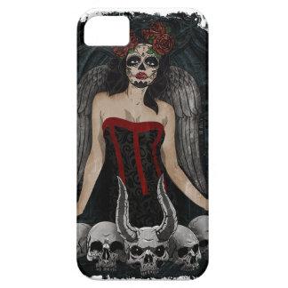 Wellcoda Scary Skull Sexy Girl Demon Evil iPhone 5 Covers