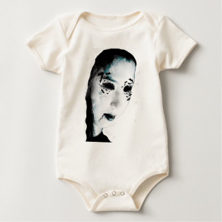 Wellcoda Scary Vampire Monster Villain Baby Bodysuit