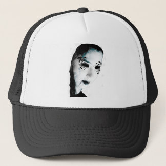 Wellcoda Scary Vampire Monster Villain Trucker Hat