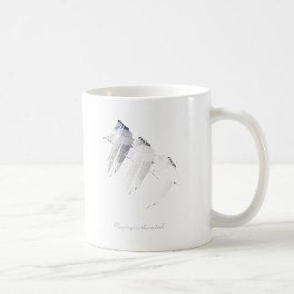 Wellcoda Seagull Bird Print Nature Flight Coffee Mug