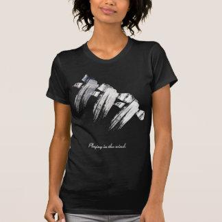 Wellcoda Seagull Bird Print Nature Flight T-Shirt