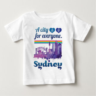 Wellcoda Sidney City Friendly Peaceful Baby T-Shirt