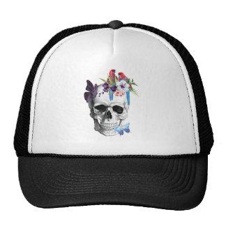 Wellcoda Skull Death Paradise Bad Tropical Cap