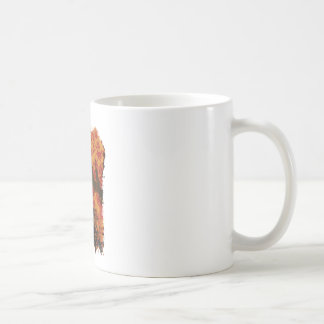 Wellcoda Skull Fire Death Tank Burning Coffee Mug