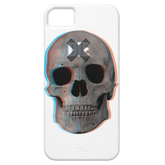Wellcoda Skull Head 3D Die Death Skeleton Case For The iPhone 5