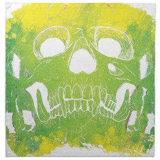 Wellcoda Skull Head Dispersion Skeleton Napkin