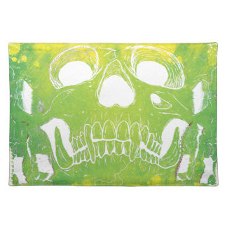 Wellcoda Skull Head Dispersion Skeleton Placemat